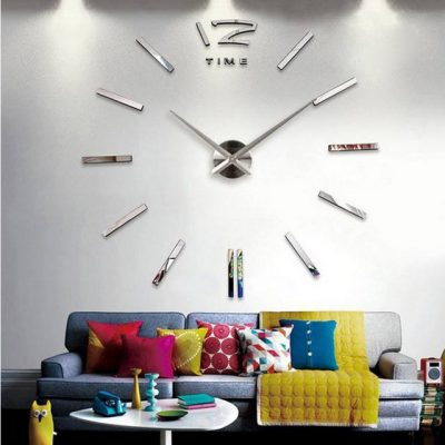 Beautiful 3D Real Big Wall Clock