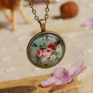 Flyleaf Original Handmade Pendants For Women Nostalgic Style Jewelry