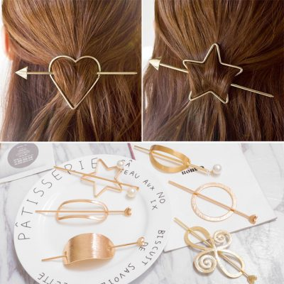Accessories for Women Simple Hair Grip Arched Hair Clips