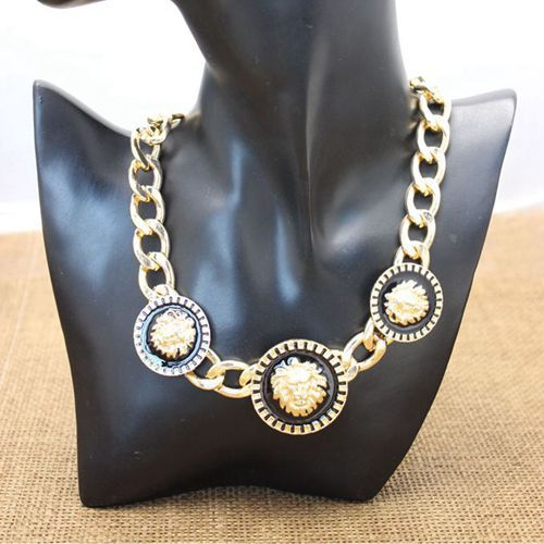 ca3a0ae6f26311 Jewelry Metal Chain Lion Head Necklace Women Chunky-Necklace – Dropshipping  Products